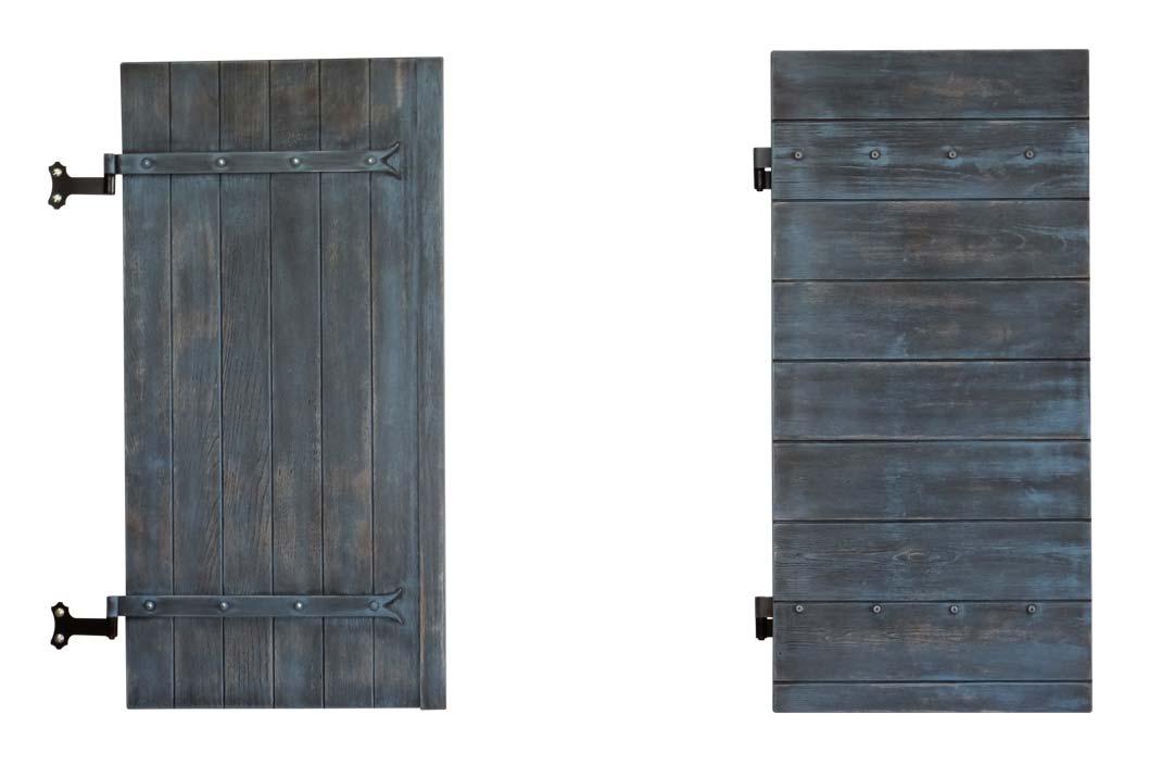 Volet provençal composite